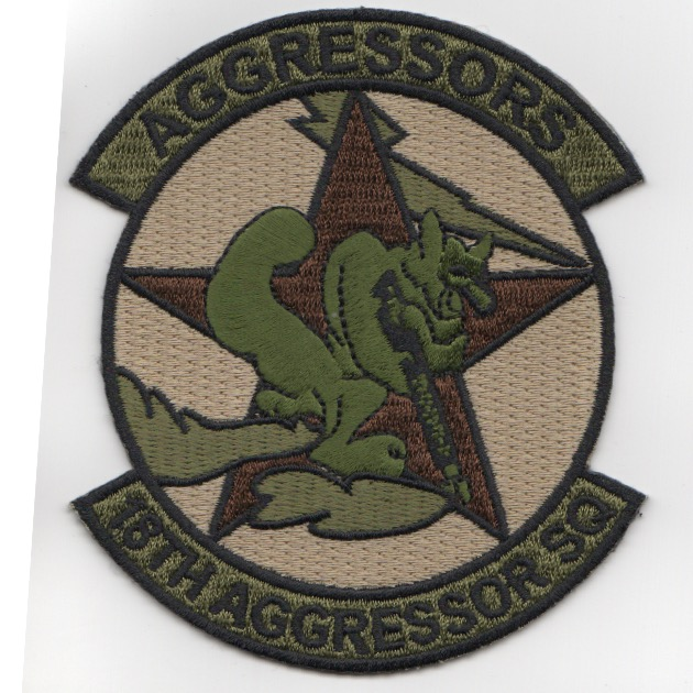 18th Aggressor Squadron Patch (OCP)