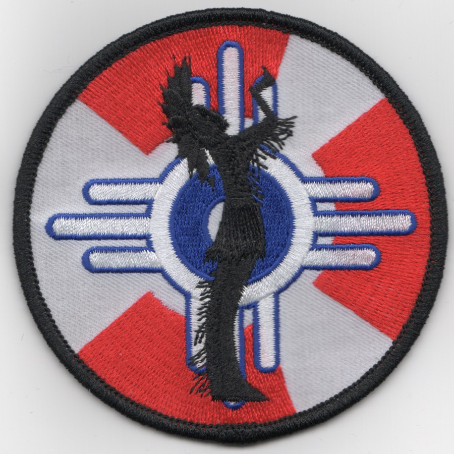 18ARS 'PLAINS KEEPER' Patch (Red/White)