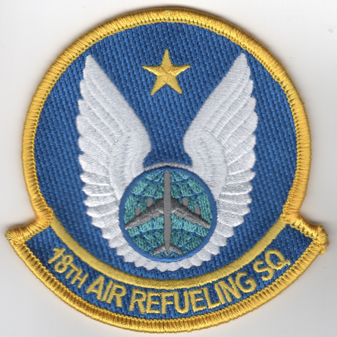 18th Air Refueling Sqdn Patch (Blue)
