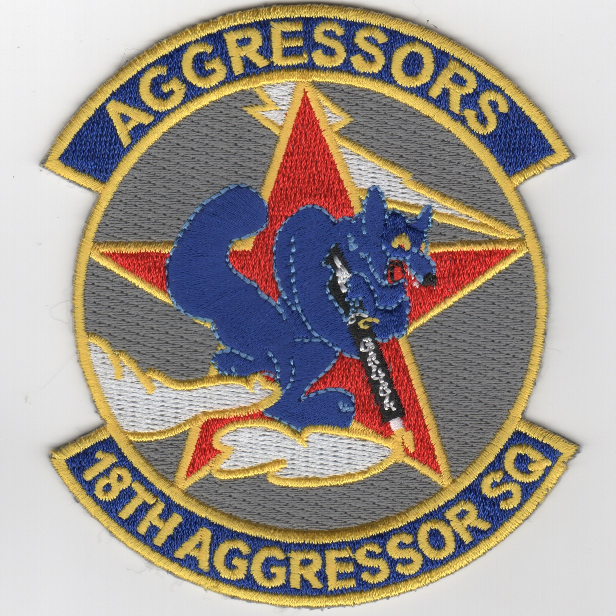 18th Aggressor Squadron Patch (English)