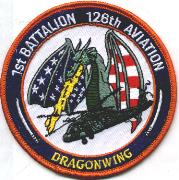 1st Battalion/126th Aviation Patch