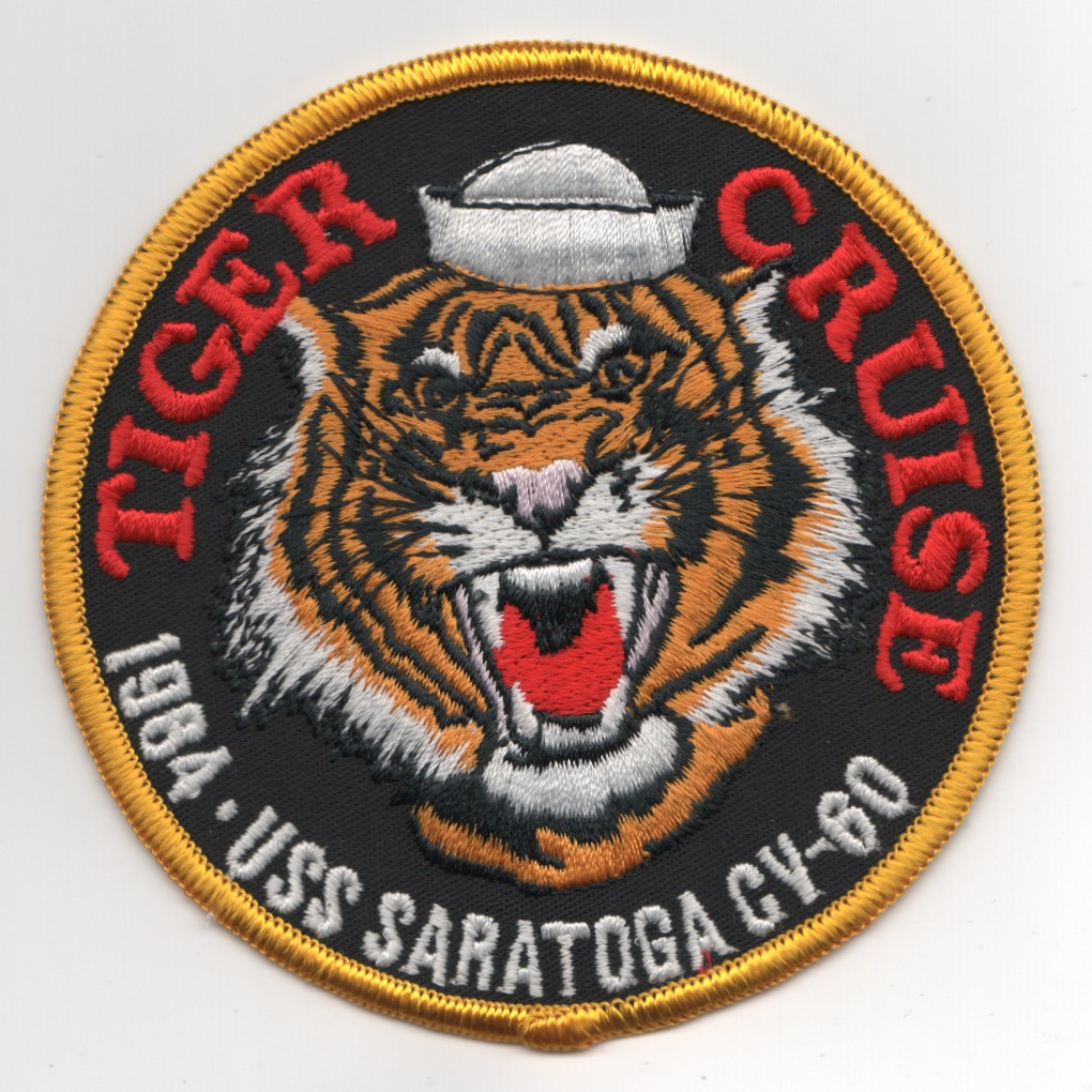 203) CV-60 1984 'Tiger Cruise' Patch