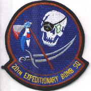20th Exp. Bomb Squadron Patch (Blue)