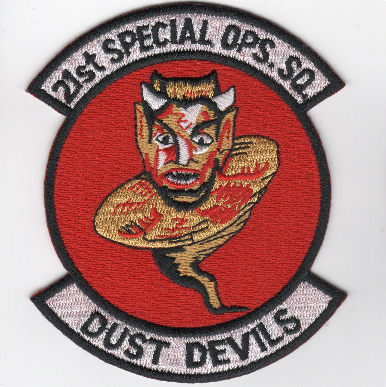 21st Special Ops Squadron Patch (Red/Repro)