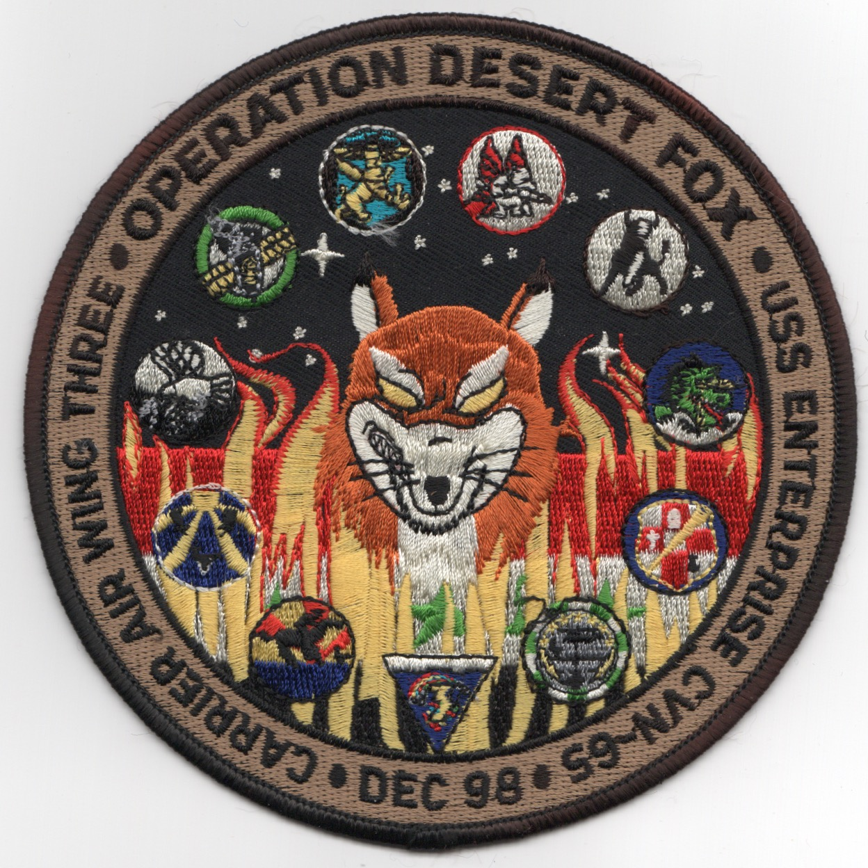 227) CVN-65 Operation DESERT FOX (Black)