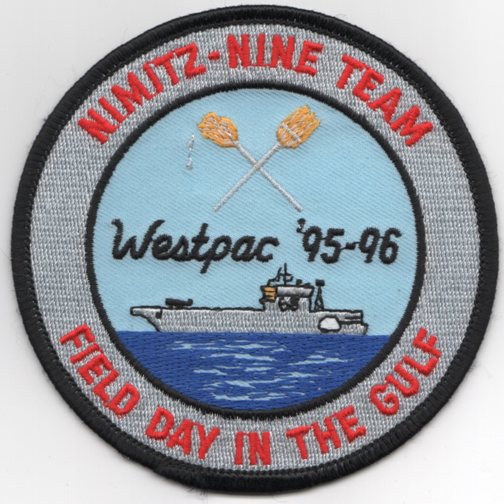 CVN-68 1996 'FIELD DAY' Cruise Patch