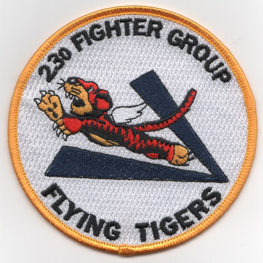 23rd Fighter Group (Round/White)