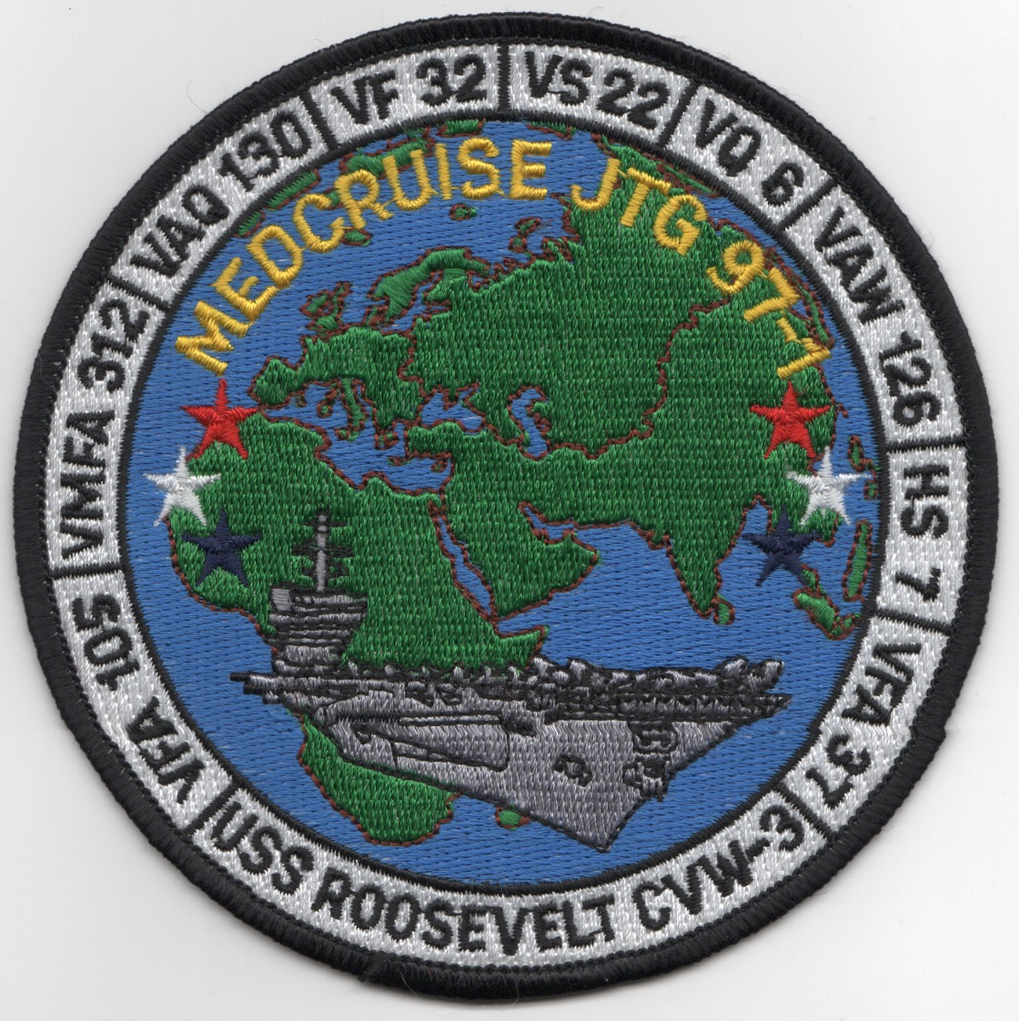 VF-32 1997 'MED' Cruise Patch