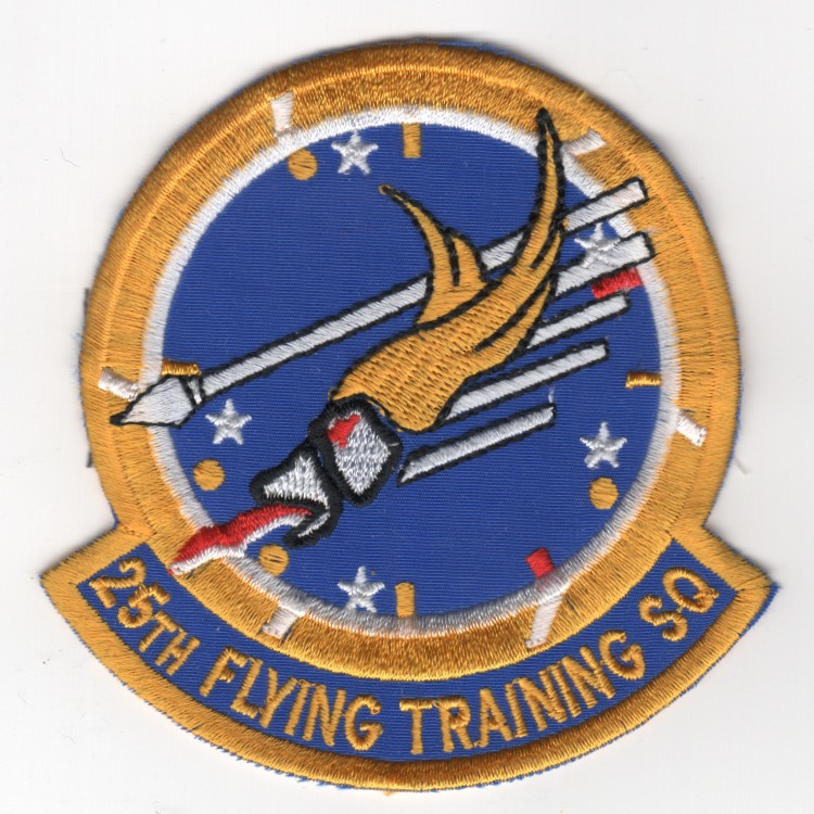 25th Flying Training Sqdn (Yel-Blue)