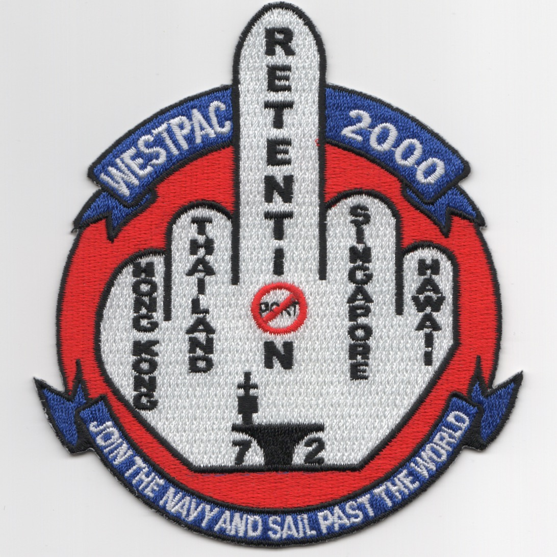VFA-115 2000 'FINGER' Patch