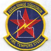 266th Range Squadron Patch