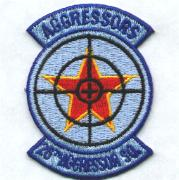 26th Aggressor Squadron Patch (Small)