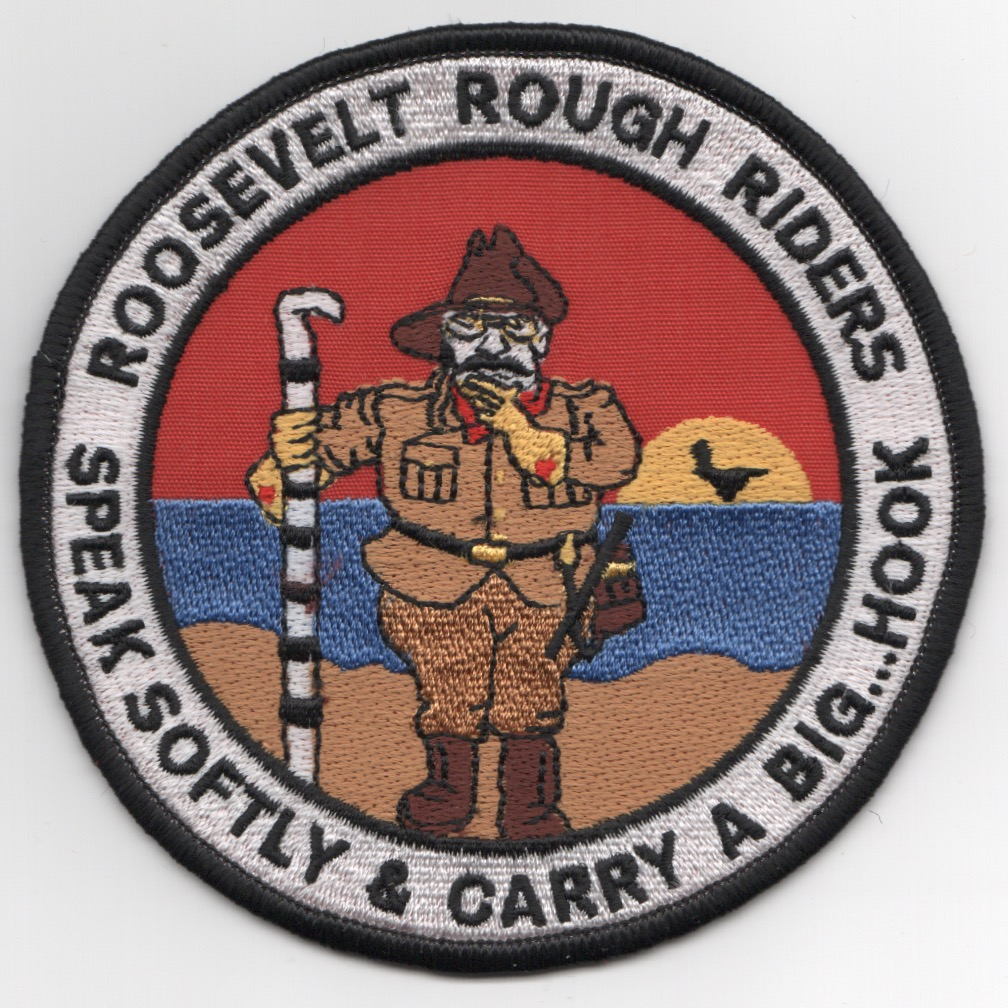 CVN-71 'Rough Riders' Cruise Patch