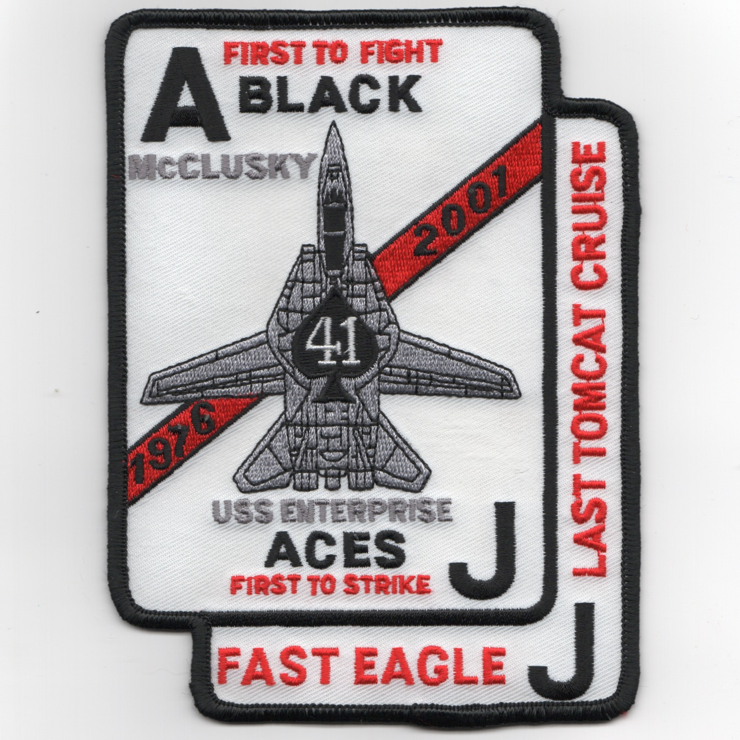 VF-41 2001 'Last Cruise' Patch