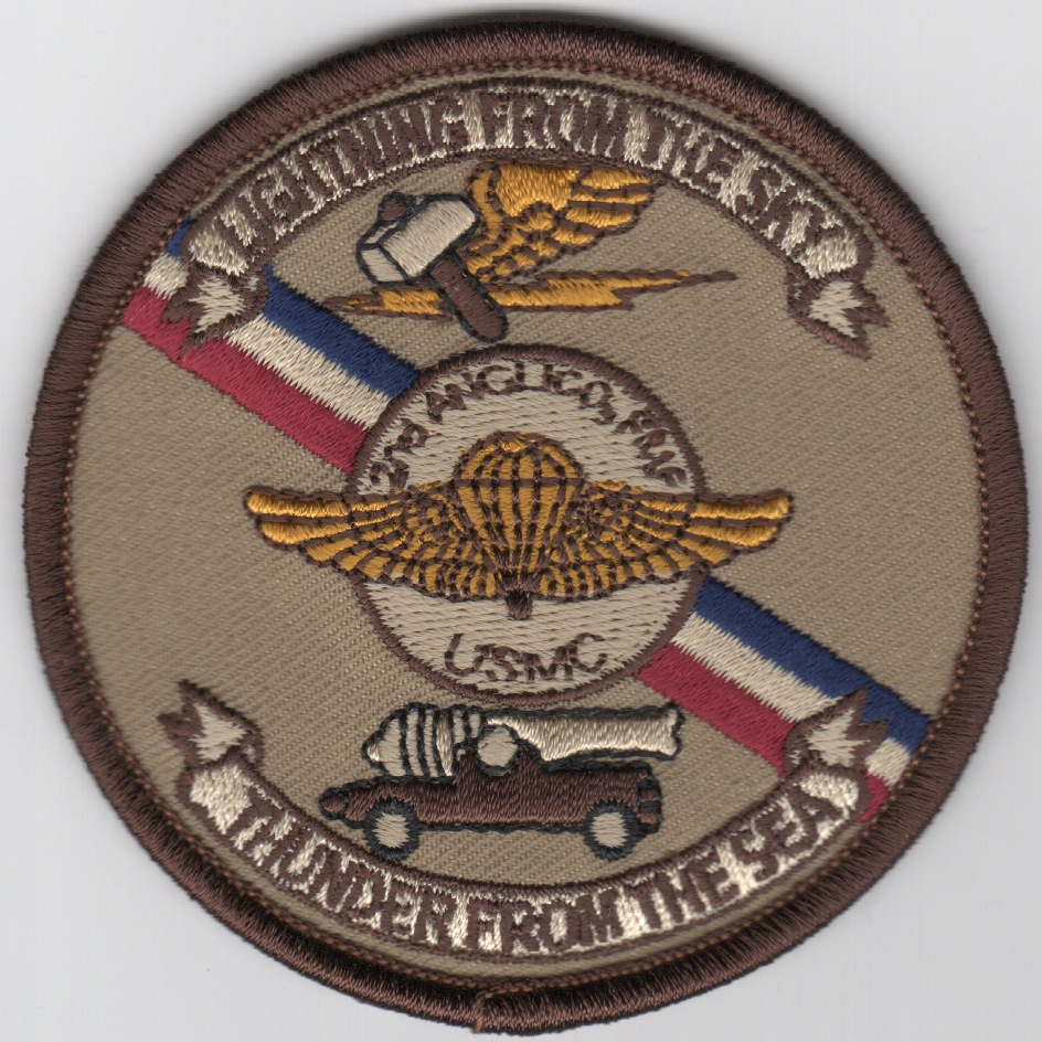 2nd MEF/2nd ANGLICO Patch (Des)