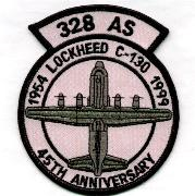 328th ALS 45th Anniversary Patch