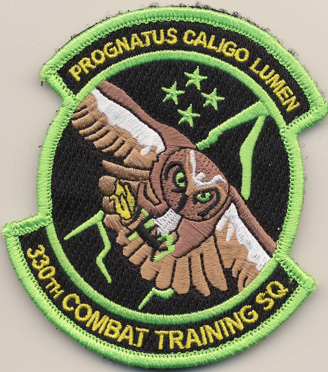 330th CTS Friday Patch
