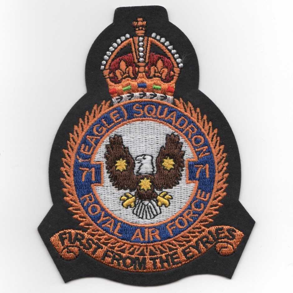 334FS/RAF Heritage Patch