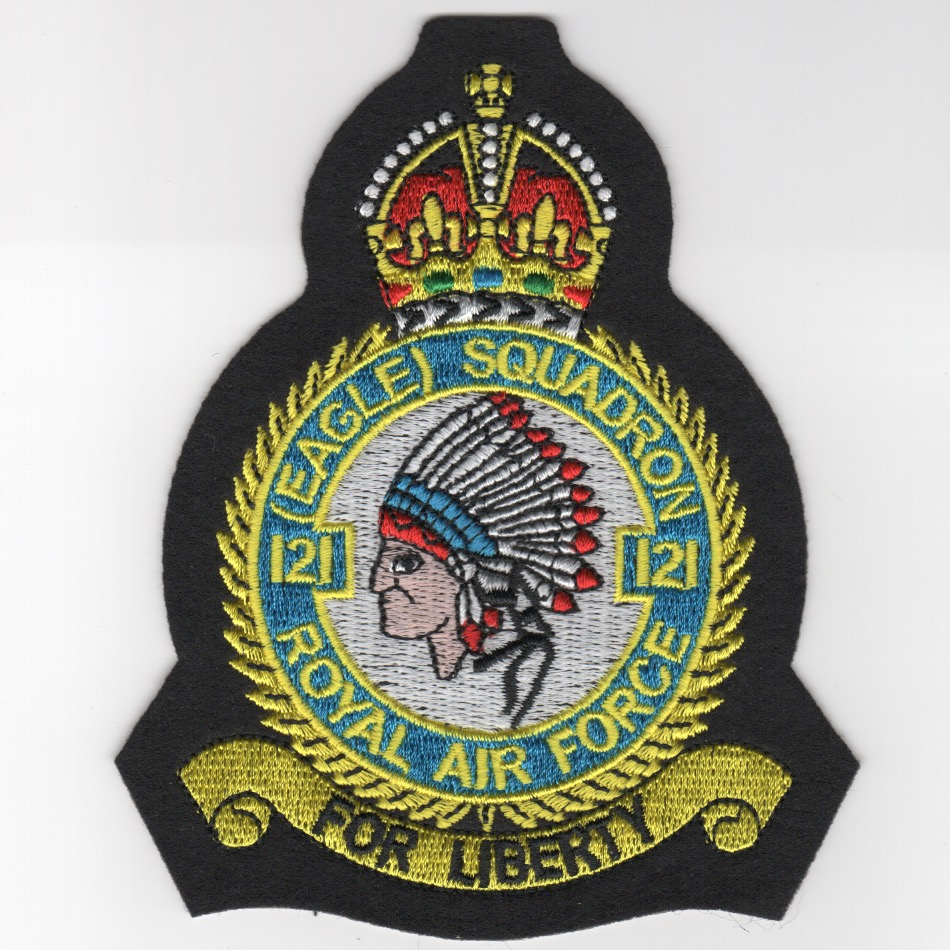 335FS/RAF 'Heritage' Patch
