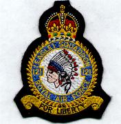 335FS/RAF Heritage Patch
