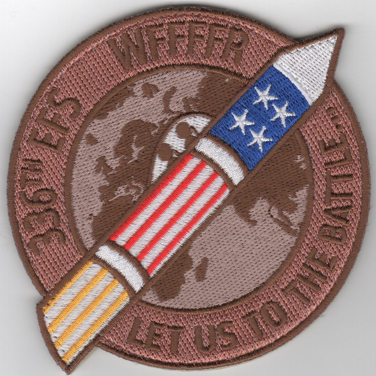 336FS F-15E 'Let Us To The Battle' Patch (Des)