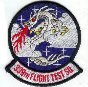 339th Flight Test Squadron Patch