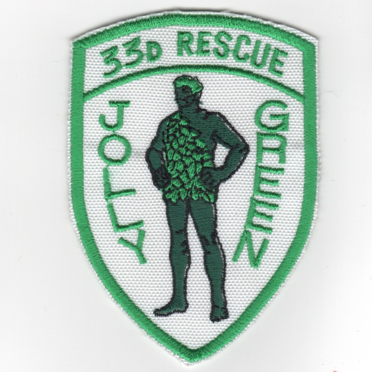 33RS Shield (Green/White)