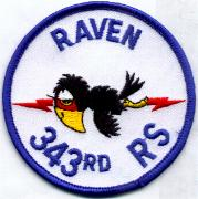 343rd Raven Patch (Blue)