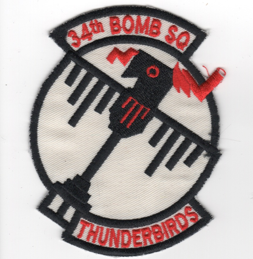 (B-1) 34BS 'Thunderbirds' (White/K)