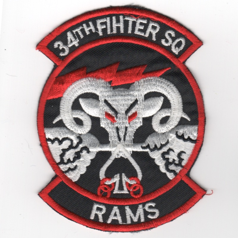 34th 'FIHTER' Squadron (Misspelled/K)