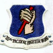 35th Tactical Fighter Wing Crest