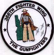 366FW 'The Gunfighters' (White w/Green Idaho)