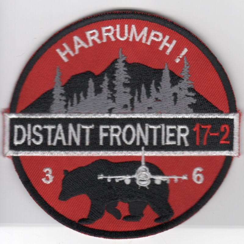 36FS 'Distant Frontier 17-2' (Red-White/K)