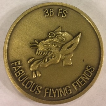 36FS 'Challenge' Coin (Front)