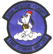 36th Rescue Flight Patch (Blue)