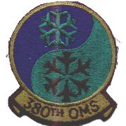 380th OMS Bomber Patch (Subdued)