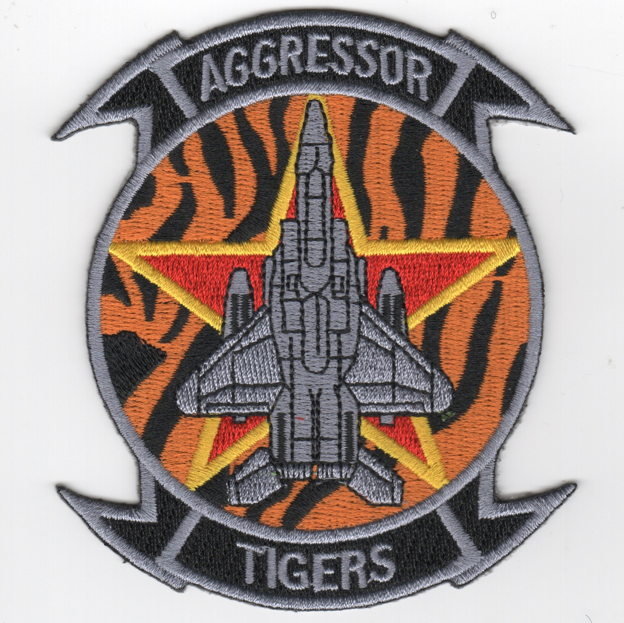391FS 'Aggressor' Squadron Patch (Orange)