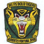 391FS Historical 'Tiger-Face' Patch