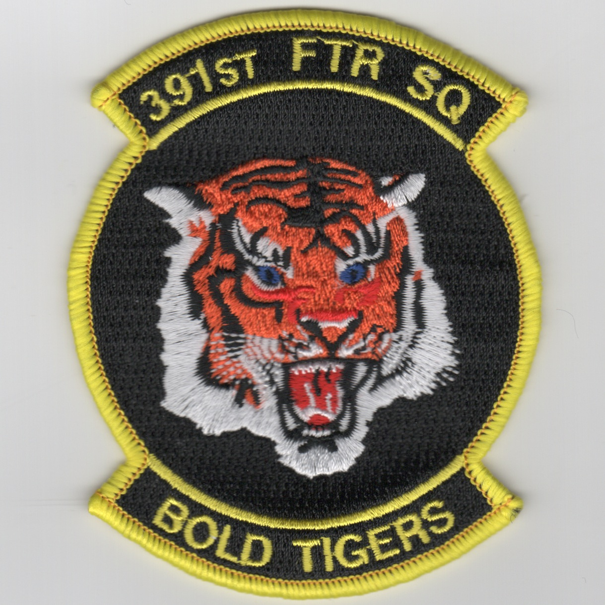 391FS Patch (Black/Yellow Border)