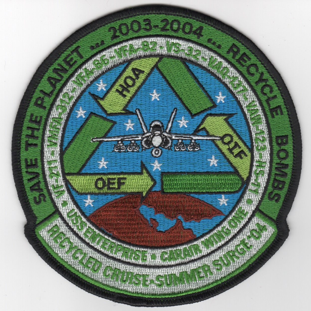 394) VFA-82 2004 'HOA' Cruise Patch