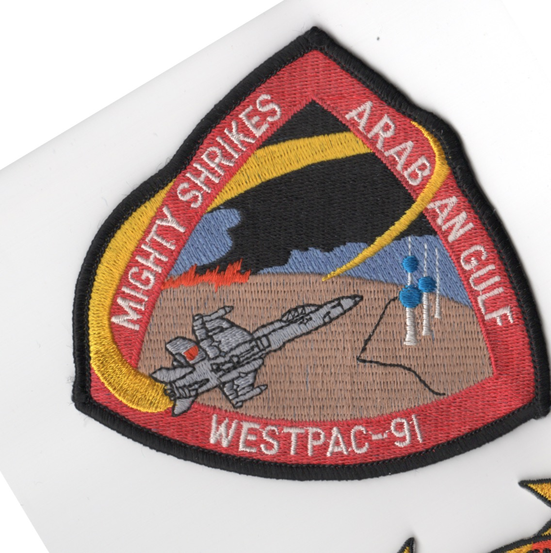 396) VFA-94 1991 WestPac Cruise Patch
