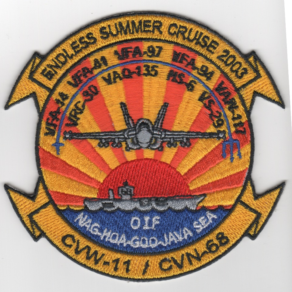 397) VFA-97 2003 'Endless Summer' Cruise Patch