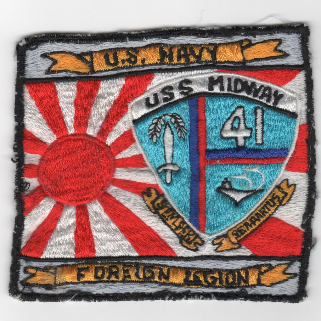 398) CV-41 'Foreign Legion' (Worn)