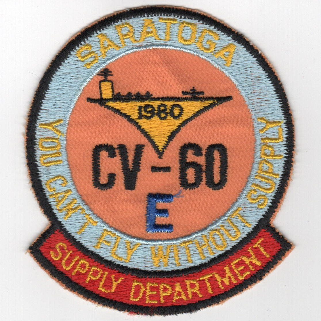 401) CV-60 'SUPPLY Department' (1980)
