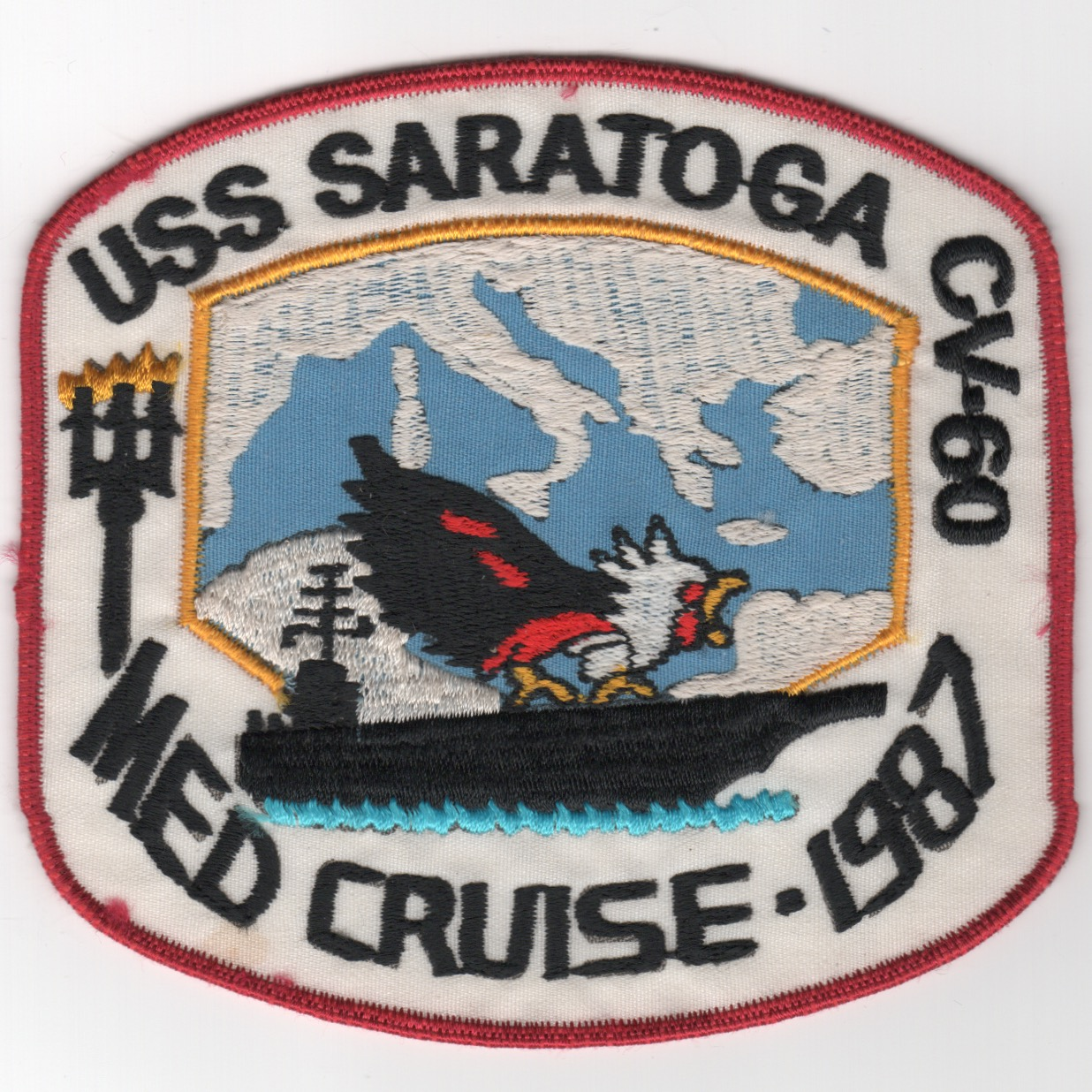402) CV-60 1987 Med Cruise Patch