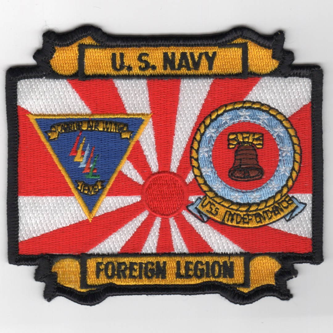 404) CV-62 'Foreign Legion' Patch