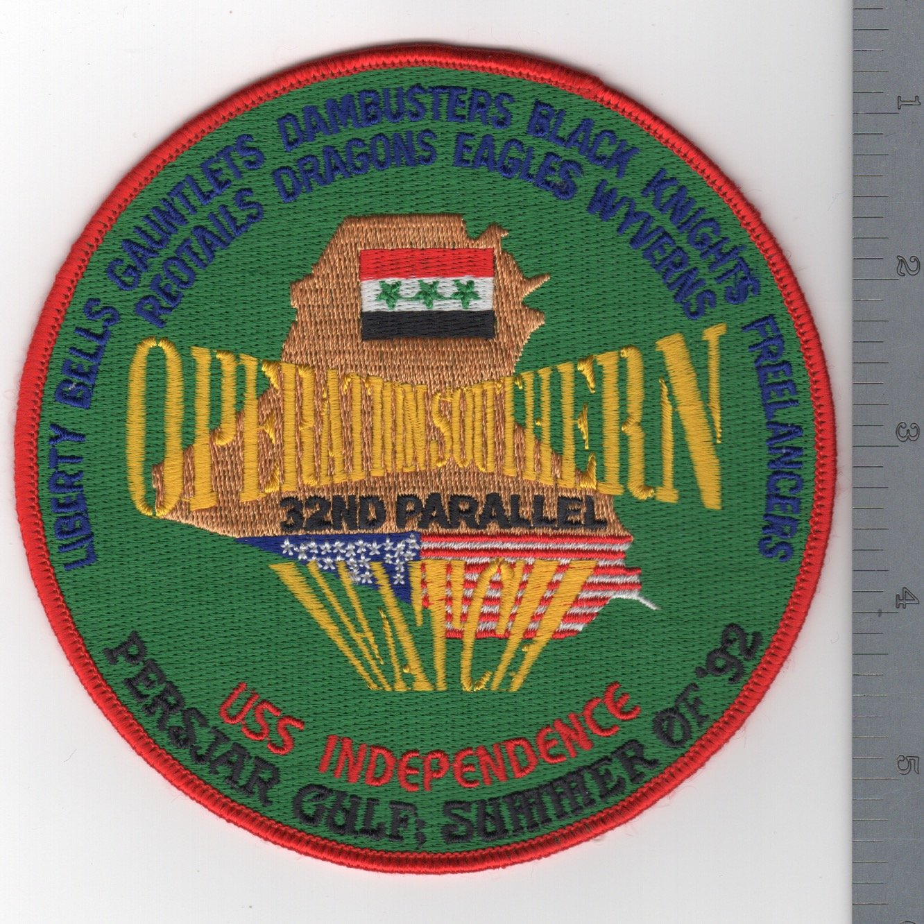 405) CV-62 1992 OSW Cruise Patch