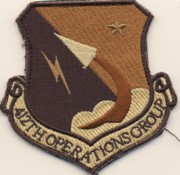 412 Operations Group Desert Patch