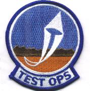 412 Flight Test Squadron Patch