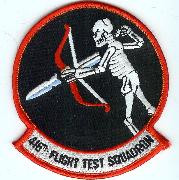 416 Flight Test Squadron Patch